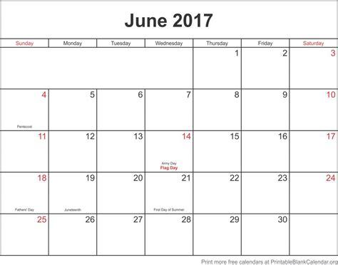 printable calendar june 2017 june 2017 printable blank calendar templates printable