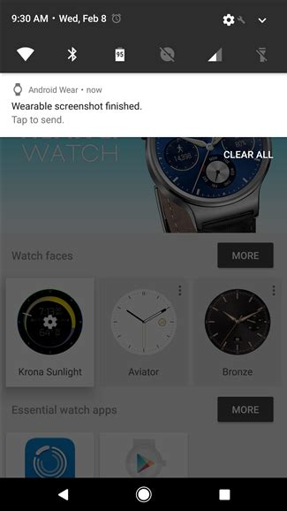 how do you screenshot on a android how to take a screenshot on android wear