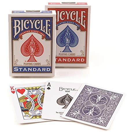 Standard Deck Of Cards by Bicycle Standard Index Cards Pack Of 2 Import
