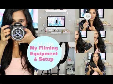 youtube film setup my filming equipment setup plus tips for new youtubers