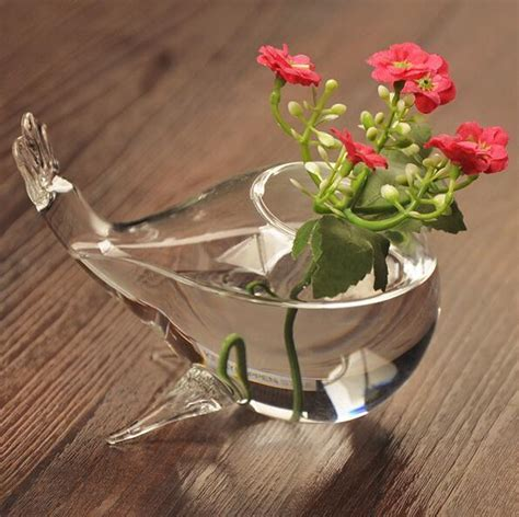 Glass Vases Wholesale Wedding Glass Vases DIY Fish Shape