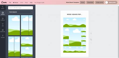 canva register how to create a mood board using canva