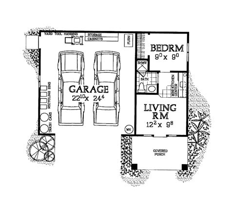 garage studio apartment plans house plans home plans floor plans and home building