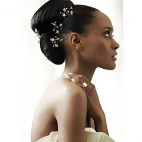 Wedding Hairstyles For Black Hair by Black Wedding Hairstyles For Hair Inofashionstyle