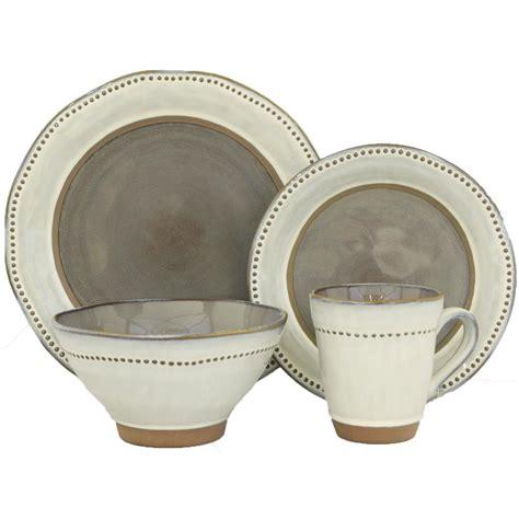sango ruvo gray 16 dinnerware set 4691 16w the