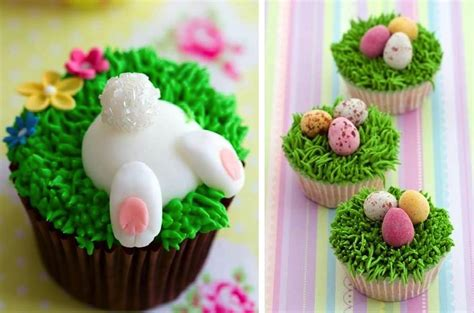 diy cute easter cupcakes find fun art projects