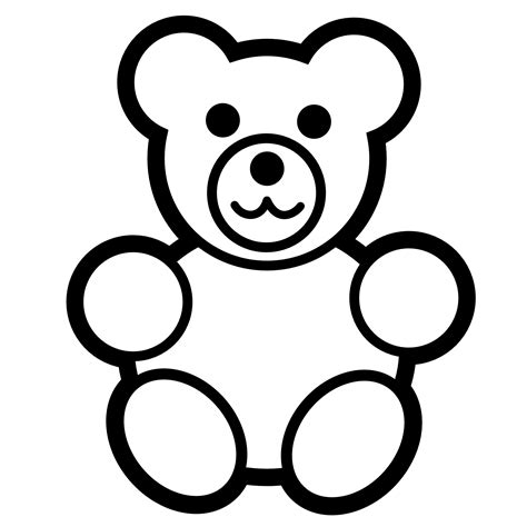 Coloring Page Teddy free printable teddy coloring pages for