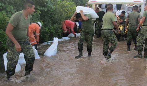 imagenes de desastres naturales ocurridos en mexico destacan labor del ej 233 rcito en desastres naturales ntr