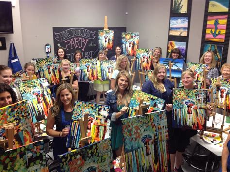paint with a twist boca raton uptown meet drink and paint happy