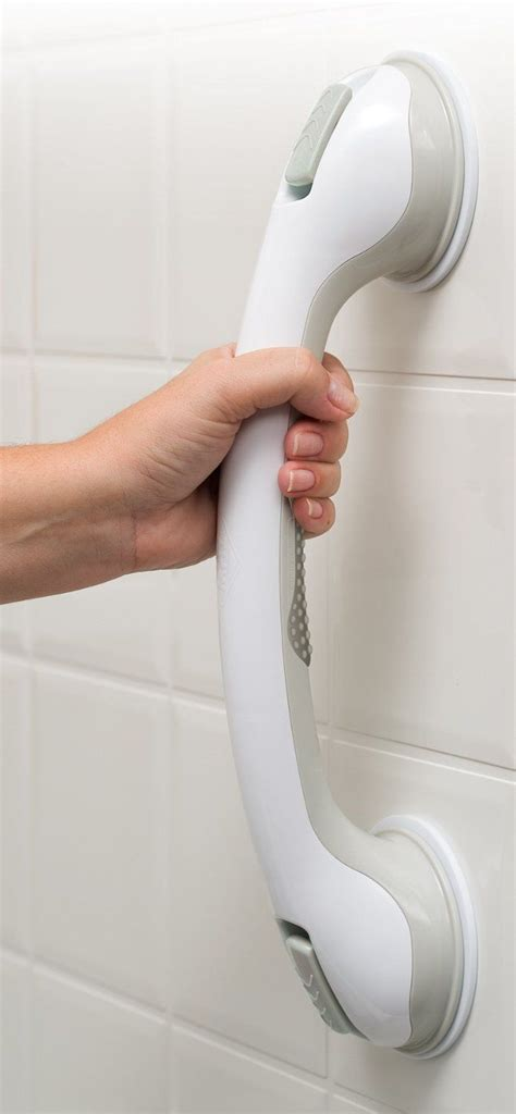 bathroom handle bar best portable suction grip bathtub and shower handle