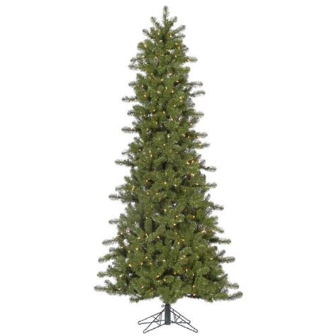 pre lit multi color led slim christmas tree 5 5 pre lit slim ontario artificial tree multi color lights 5ive dollar market