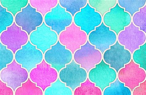 pastel color pattern quot bright moroccan morning pretty pastel color pattern