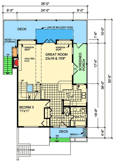 narrow lot cottage house plan 9818sw architectural narrow lot cottage house plan 9818sw architectural