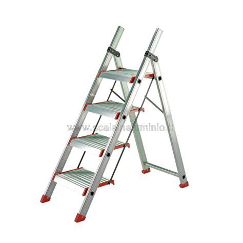 sgabelli in alluminio scale in alluminio sgabello kubo 4 gradini
