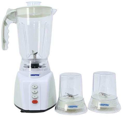 geepas 3 in 1 multifunction blender gsb5305 white and green price review and buy in dubai