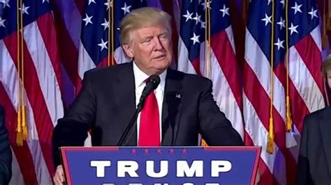 donald trump s unthinkable election 2016 election donald trump wins the white house in upset