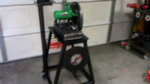 Diy Table Saw Stand Homemade Chop Saw Stand Youtube