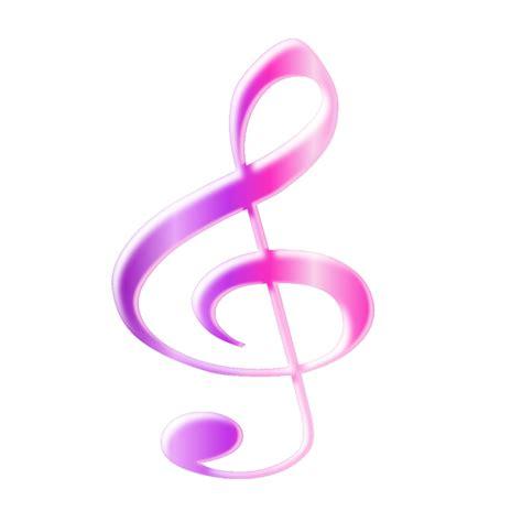 imagenes de notas musicales kawaii nota musical lila