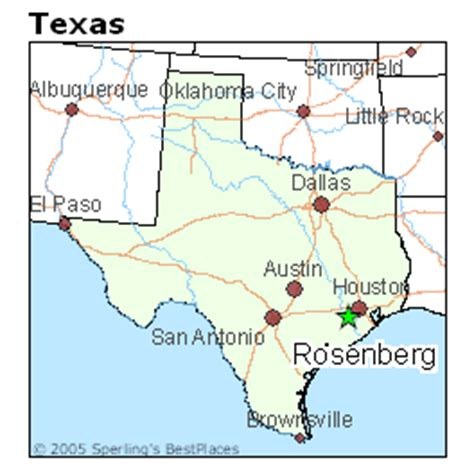 map of rosenberg texas best places to live in rosenberg texas