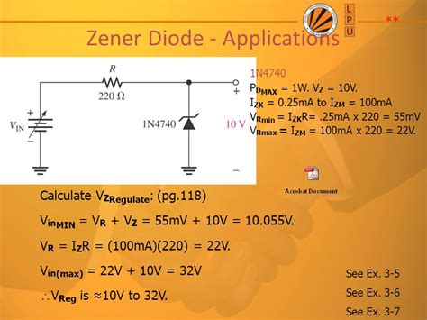 zener diodes applications special purpose diodes ppt
