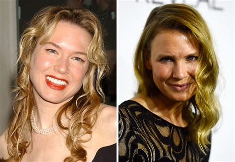 hollywood news now renee zellweger then now the hollywood gossip