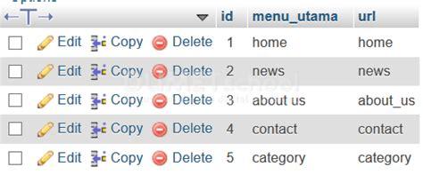 cara membuat menu dropdown menggunakan php cara membuat submenu dinamis menggunakan php mysql