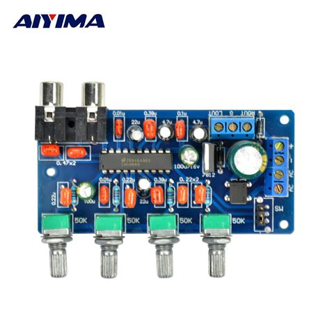 Amflifier Stereo Acoustic Ac 137 aiyima 1pc lifier board ac dc lm1036n hifi tone board stereo audio lifier board dc