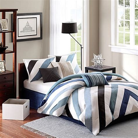 bed bath and beyond madison buy madison park mercer collection 7 piece california king