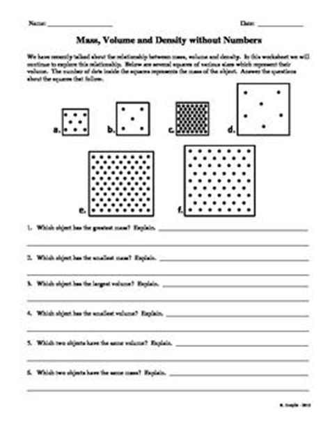 volume printable free worksheets search results 17 best images about density experiments on pinterest