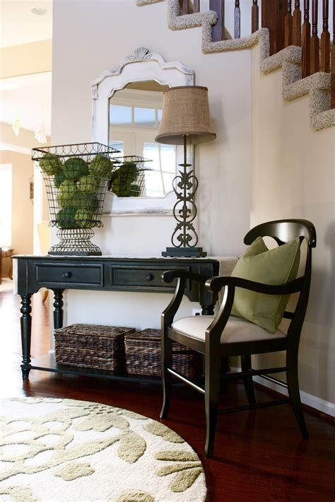 Entry Table Ideas by Foyer Tables Entry Ways And High Ceilings On Pinterest