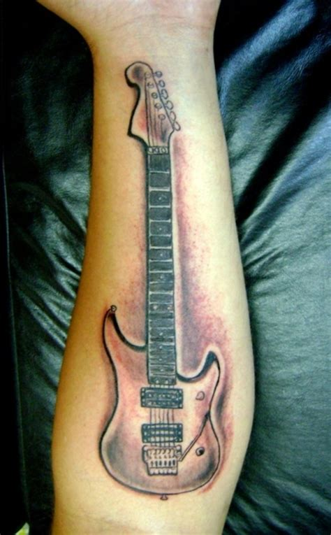 acoustic guitar tattoos guitar tattoos