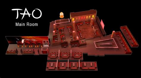 Security Floor Plan tao nightclub table service bottle pricing amp reservations