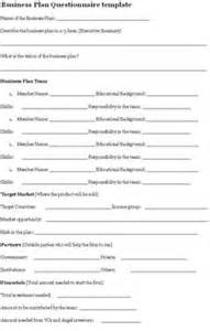 Business Process Questionnaire Template 1000 Images About Sample Questionnaires On Pinterest