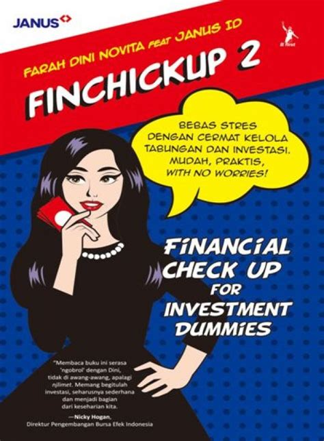 Finchickup 2 Financial Check Up For Investment Dummies Ori 514 0829 bukukita finchickup 2 financial check up for