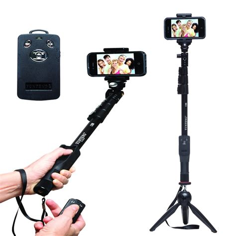 Tongsis Mini Selfie Stick Dengan Remote Shutter tongsis bluetooth yunteng 1288 mini tripod yunteng 288 gaming gadget store