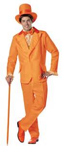Dumb and dumber lloyd orange tuxedo costume costume craze