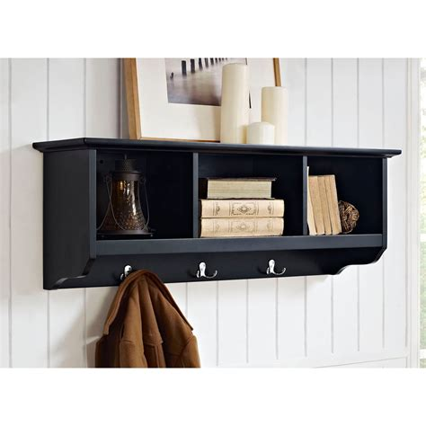 entryway shelf entryway storage shelf dark stabbedinback foyer saving