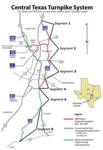 toll road 130 map partnership approved for state highway 130