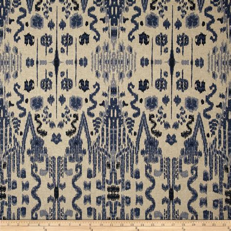 indian curtain fabric lacefield mumbai indian blue discount designer fabric