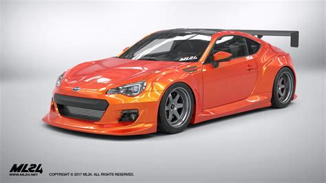 subaru brz wide ml24 2013 2016 subaru brz version 2 wide kit