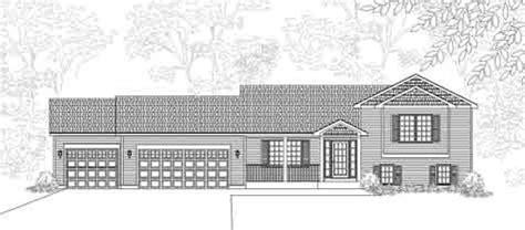 tri level house floor plans tri level house plans design