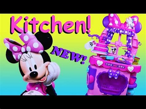 New Play Doh Minnie Mouse minnie mouse sweet surprises play kitchen play doh food