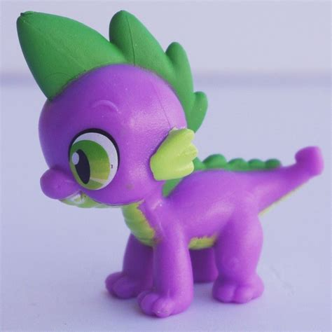 Figure My Pony 8pcs hasbro my pony friendship is magic spike rrt5 ebay