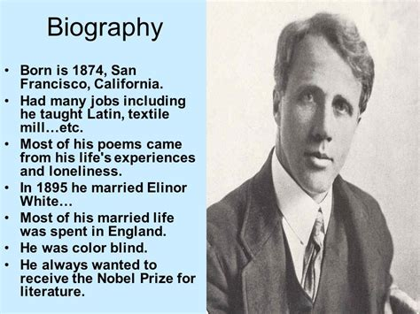robert frost biography for students robert frost by spencer watts ppt video online download