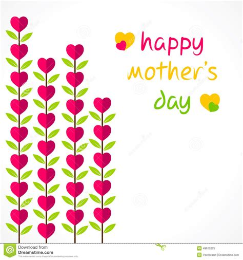 mother s day designs happy mother s day design stock vector image 49610275