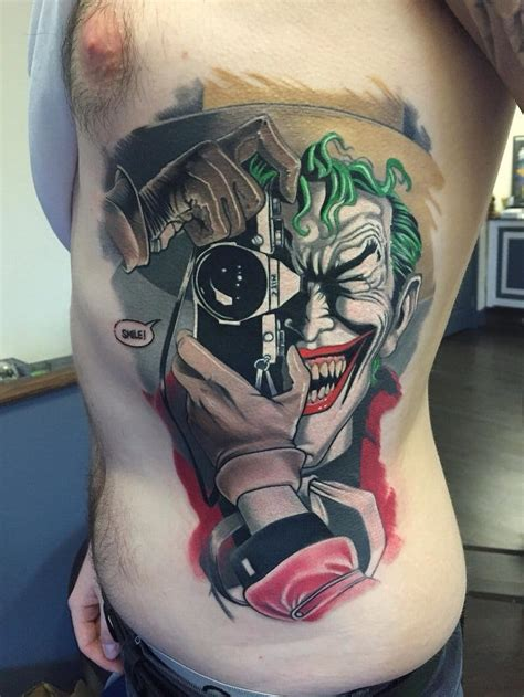 joker tattoo portsmouth review 8 crazy joker tattoos that aren t heath ledger tattoodo