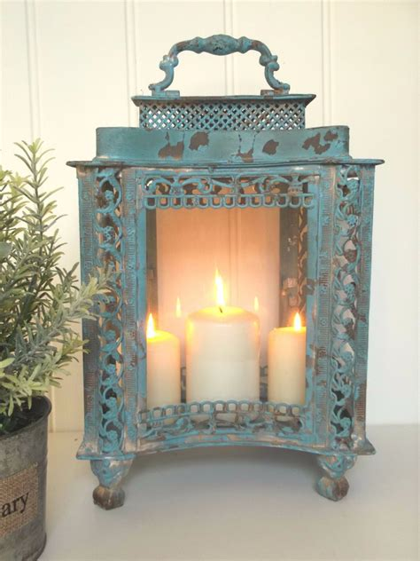 home decor and gifts large french vintage style lantern candle holder shabby