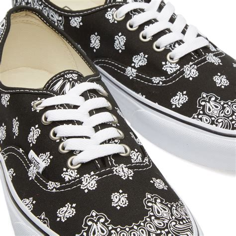 Vans Authentic Bandana Pack Black White white bandana images