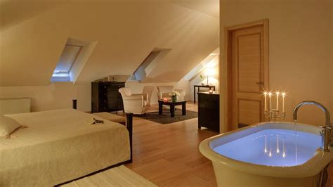 design with a bathtub in the bedroom fresh
