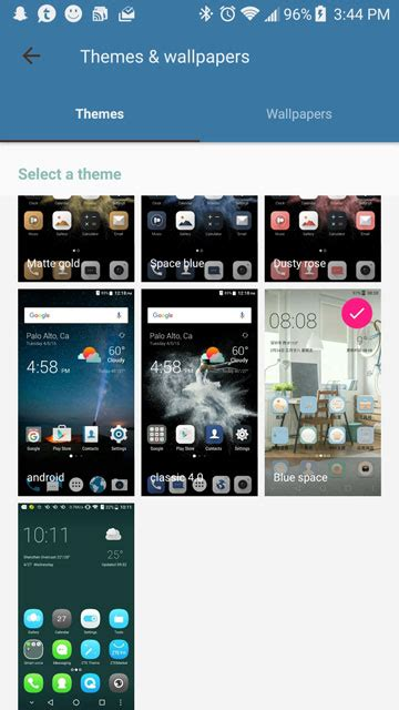 themes android zte how to enable theme store on zte axon 7 droidviews